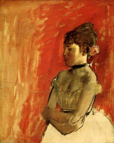 Edgar (Hilaire Germain) Degas (de Gas) - Tänzerin mit gekreuzten Armen
