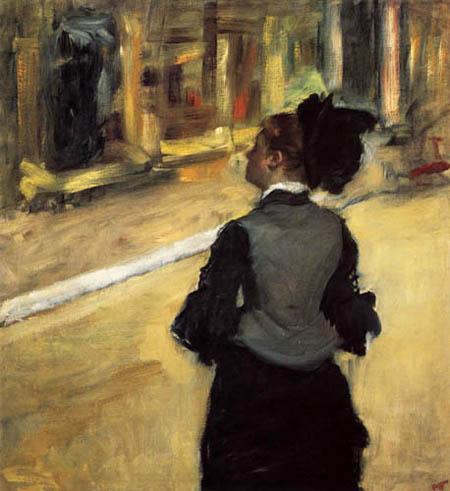 Edgar (Hilaire Germain) Degas (de Gas) - Im Kunstmuseum