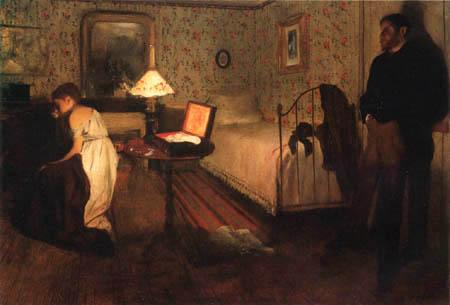 Edgar (Hilaire Germain) Degas (de Gas) - Die Vergewaltigung