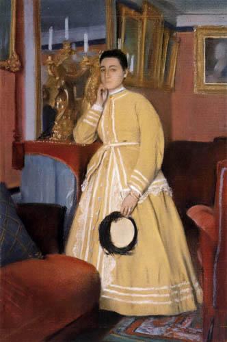Edgar (Hilaire Germain) Degas (de Gas) - Madame Edmondo Morbilli