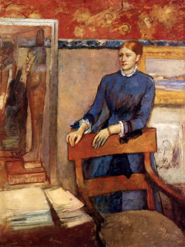 Edgar (Hilaire Germain) Degas (de Gas) - Bildnis Helene Rouart