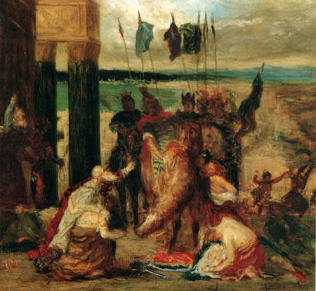 Edgar (Hilaire Germain) Degas (de Gas) - Introduction in Constantinople