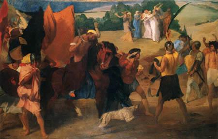 Edgar (Hilaire Germain) Degas (de Gas) - Die Tochter von Jephtha