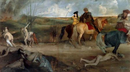 Edgar (Hilaire Germain) Degas (de Gas) - Die Unglücklichen von Orleans