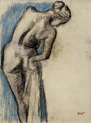 Edgar (Hilaire Germain) Degas (de Gas) - Studie, Nach dem Bad