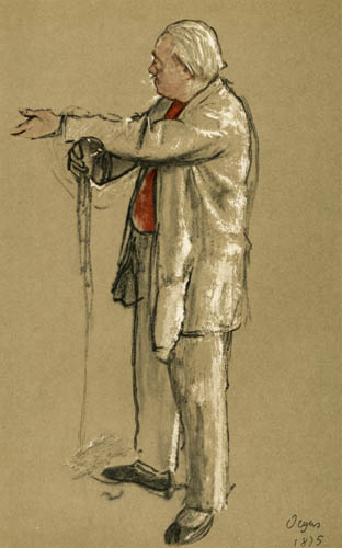 Edgar (Hilaire Germain) Degas (de Gas) - Der Ballettmeister