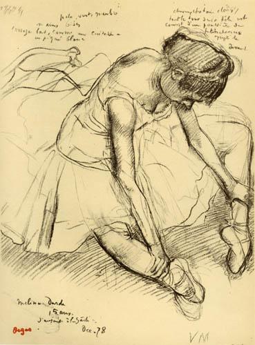 Edgar (Hilaire Germain) Degas (de Gas) - Melina Darde