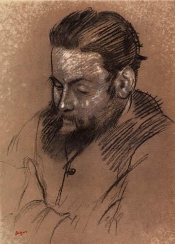 Edgar (Hilaire Germain) Degas (de Gas) - Der Graveur Martelli