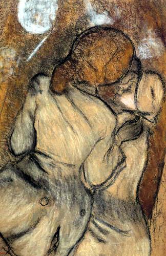 Edgar (Hilaire Germain) Degas (de Gas) - Die Amazonen