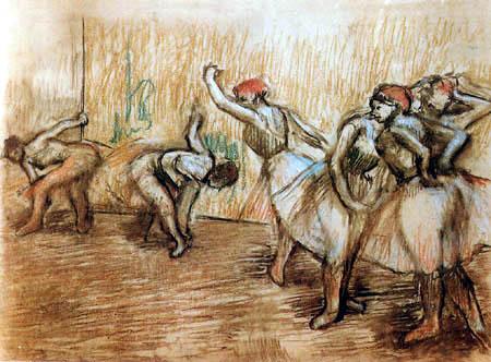Edgar (Hilaire Germain) Degas (de Gas) - Dancers