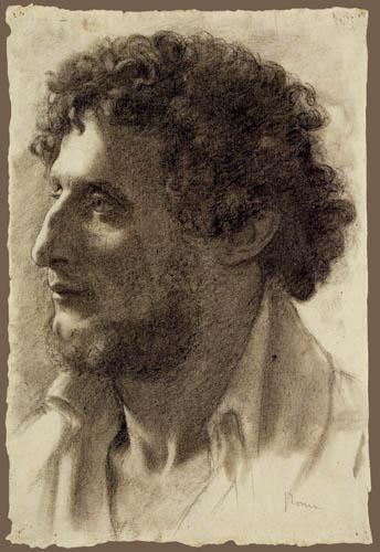 Edgar (Hilaire Germain) Degas (de Gas) - Studie, Italiener