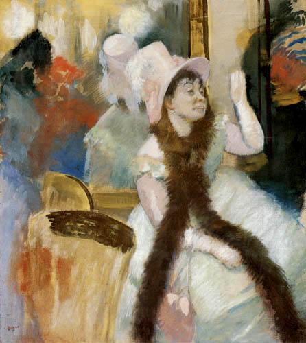 Edgar (Hilaire Germain) Degas (de Gas) - Madame Dietz Monnin nach dem Ball