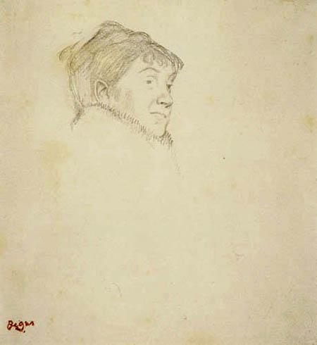Edgar (Hilaire Germain) Degas (de Gas) - Madame Dietz Monnin