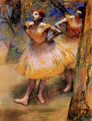 Edgar (Hilaire Germain) Degas (de Gas) - Zwei Tänzerinnen