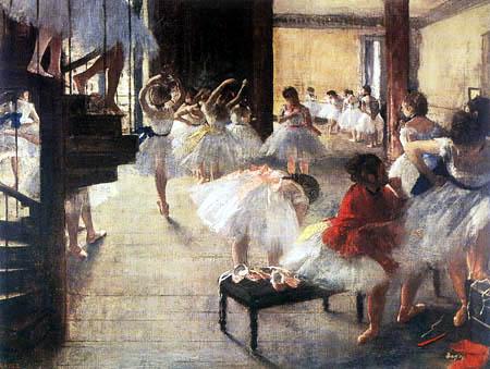 Edgar (Hilaire Germain) Degas (de Gas) - Die Tanzstunde