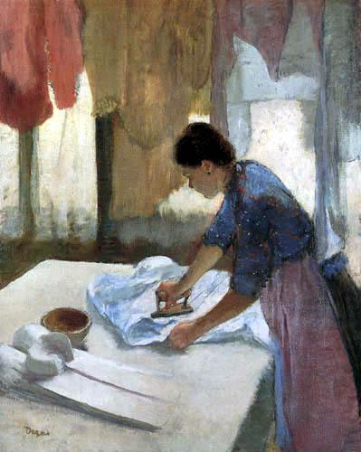 Edgar (Hilaire Germain) Degas (de Gas) - Presser