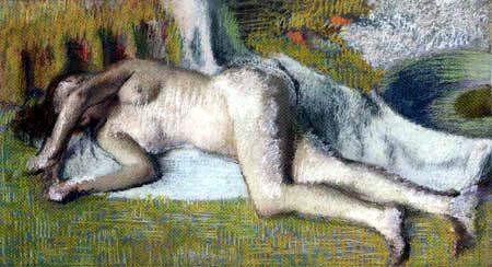 Edgar (Hilaire Germain) Degas (de Gas) - Nach dem Bade
