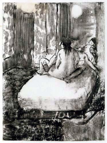 Edgar (Hilaire Germain) Degas (de Gas) - Auf dem Bett