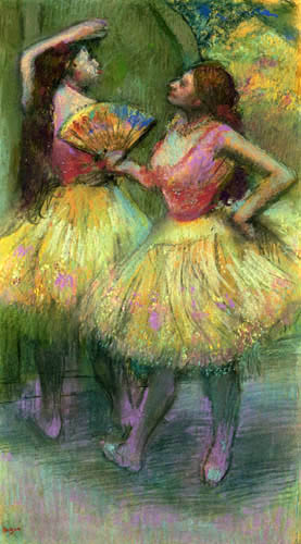 Edgar (Hilaire Germain) Degas (de Gas) - Ballettscene