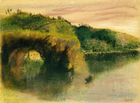 Edgar (Hilaire Germain) Degas (de Gas) - Flussufer
