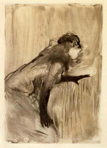Edgar (Hilaire Germain) Degas (de Gas) - Café-concert-chanteuse