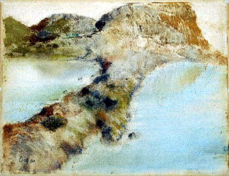 Edgar (Hilaire Germain) Degas (de Gas) - Felsenküste