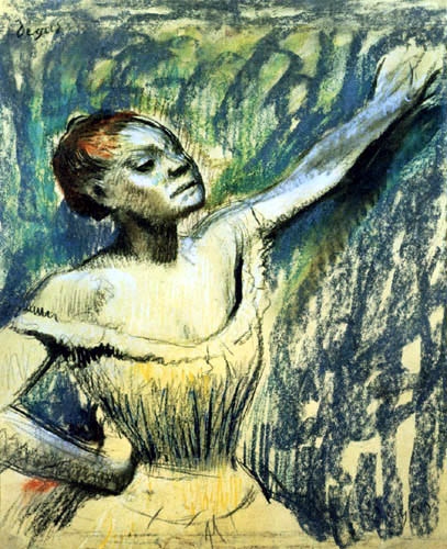 Edgar (Hilaire Germain) Degas (de Gas) - Tänzerin