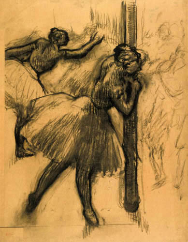 Edgar (Hilaire Germain) Degas (de Gas) - Bailarina