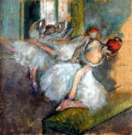 Edgar (Hilaire Germain) Degas (de Gas) - Tänzerinnen