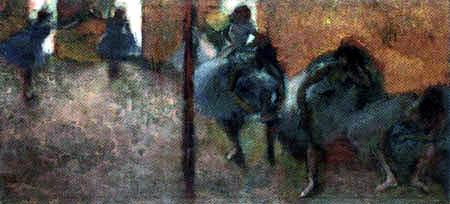 Edgar (Hilaire Germain) Degas (de Gas) - Tänzerinnen im Foyer
