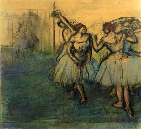 Edgar (Hilaire Germain) Degas (de Gas) - Tänzerinnen in Bewegung