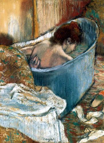 Edgar (Hilaire Germain) Degas (de Gas) - Das Bad