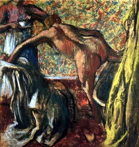 Edgar (Hilaire Germain) Degas (de Gas) - Das Frühstück nach dem Bade