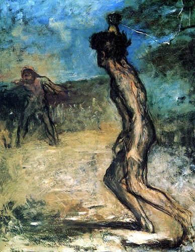 Edgar (Hilaire Germain) Degas (de Gas) - David und Goliath