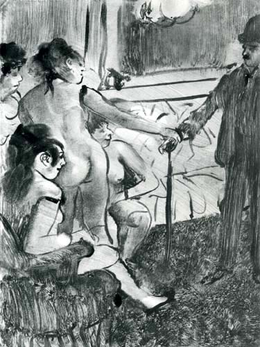 Edgar (Hilaire Germain) Degas (de Gas) - Der seriöse Kunde