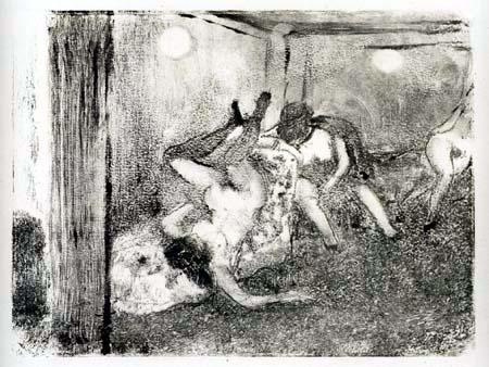 Edgar (Hilaire Germain) Degas (de Gas) - Die Dirnen