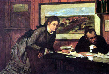 Edgar (Hilaire Germain) Degas (de Gas) - Häusliche Szene