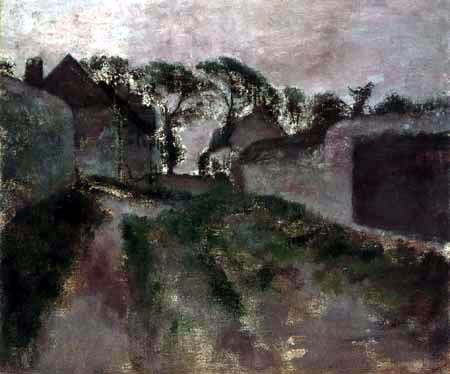 Edgar (Hilaire Germain) Degas (de Gas) - Dorfstrasse, Saint-Valéry-sur-Somme