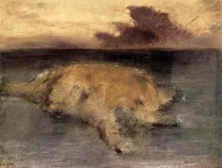 Edgar (Hilaire Germain) Degas (de Gas) - Eine Insel im Meer