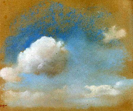 Edgar (Hilaire Germain) Degas (de Gas) - Himmelsstudie