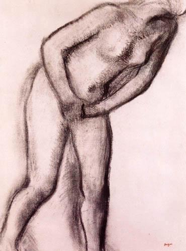 Edgar (Hilaire Germain) Degas (de Gas) - Frauenakt