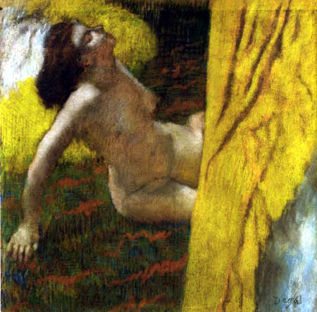 Edgar (Hilaire Germain) Degas (de Gas) - Aktstudie