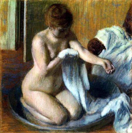 Edgar (Hilaire Germain) Degas (de Gas) - Femme au tub