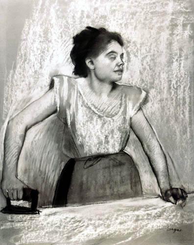 Edgar (Hilaire Germain) Degas (de Gas) - Büglerin
