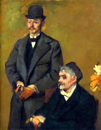 Edgar (Hilaire Germain) Degas (de Gas) - Henri Ruart und sein Sohn Alexis