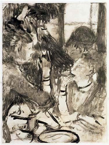 Edgar (Hilaire Germain) Degas (de Gas) - Im Speisezimmer