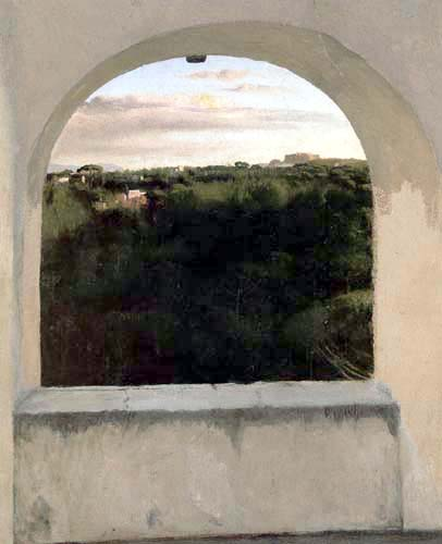 Edgar (Hilaire Germain) Degas (de Gas) - Italienische Landschaft