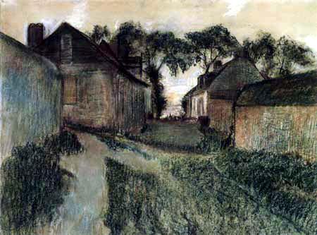 Edgar (Hilaire Germain) Degas (de Gas) - Rue de Quesnoy, Saint-Valéry-sur-Somme
