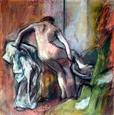 Edgar (Hilaire Germain) Degas (de Gas) - Im Bad