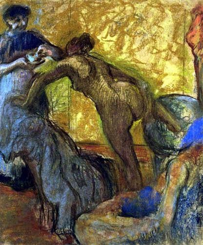 Edgar (Hilaire Germain) Degas (de Gas) - Die Tasse Schokolade